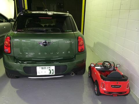 新型BMWMINIクロスオーバー