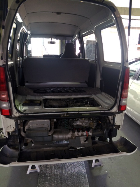 H15スバルサンバー中古車ご注文