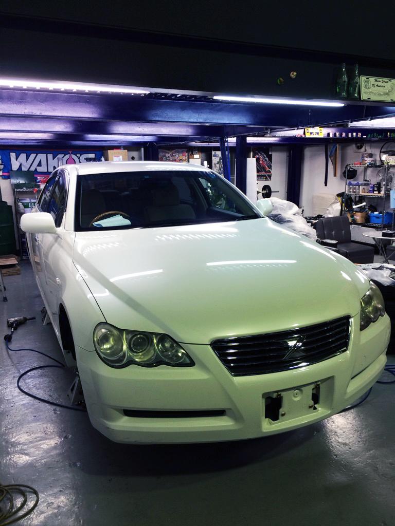 車洗車ピカピカ