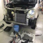 ワゴンR修理