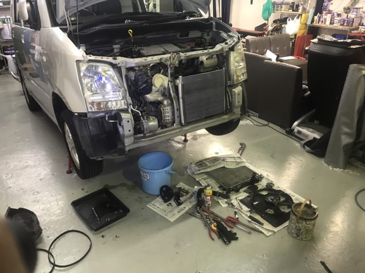 修理ワゴンR
