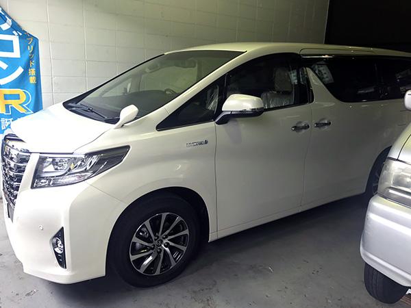 トヨタ アルファード ハイブリット 新車販売 納車|大阪 東大阪トミクル