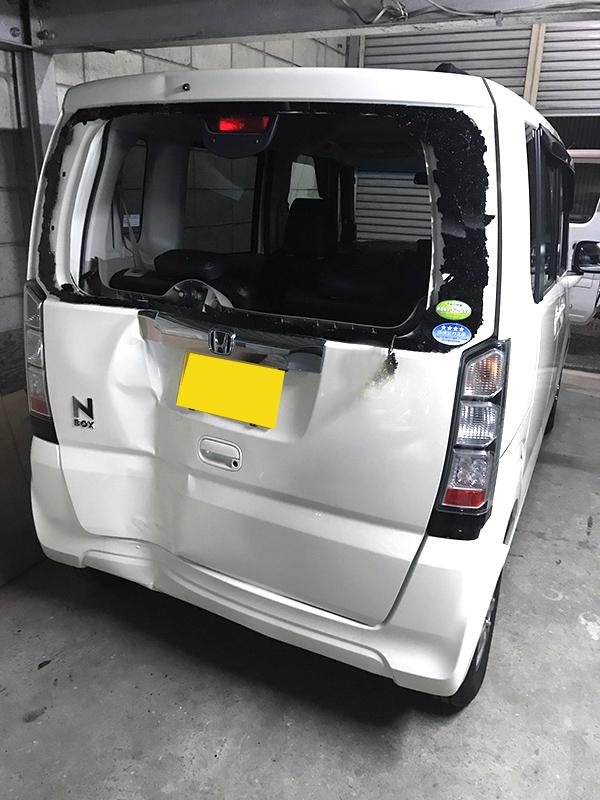 Nボックス「N-BOX」事故修理|大阪・東大阪・八尾の事故修理 相談