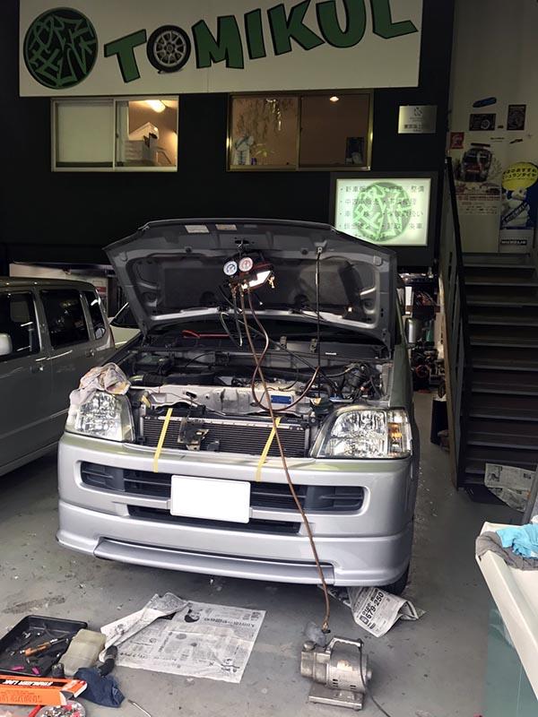 ワゴンRが故障!ラジエターの劣化で故障|大阪・東大阪・八尾の修理