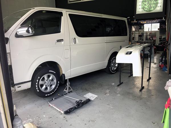 車検と修理 ハイエース 200系 車検・修理のご依頼